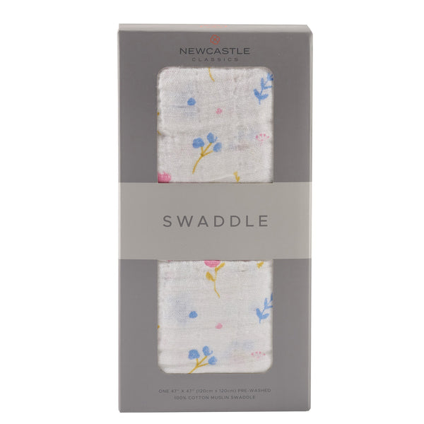 Spring Time Flower Swaddle