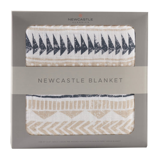 Newcastle Pyramid Print Blanket