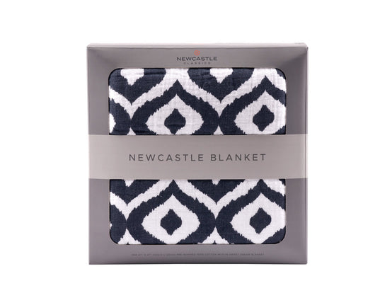 Newcastle Moroccan Blue Blanket