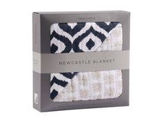 Load image into Gallery viewer, Newcastle Moroccan Blue And Traveler Dot Blanket