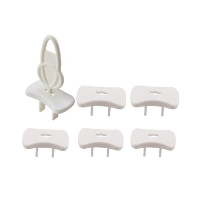 Cover Outlet Plug Protector With Key For Baby Safety, 6 Pack - EliteBaby