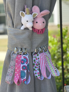 Pacifier Holder Case | 6 Pacifier Clip | 2 Baby Teether Rattle Combo - EliteBaby