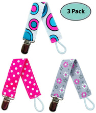 Load image into Gallery viewer, Pacifier Holder Case | 6 Pacifier Holder Clip Combo - EliteBaby