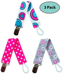 Pacifier Holder Case | 6 Pacifier Holder Clip Combo - EliteBaby