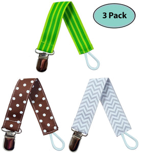 Pacifier Holder Case | 6 Pacifier Holder Clip for Boy Combo - EliteBaby