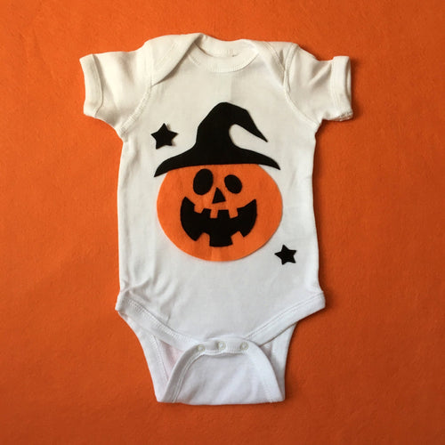 Pumpkin Witch - Baby Bodysuit - Costume - EliteBaby