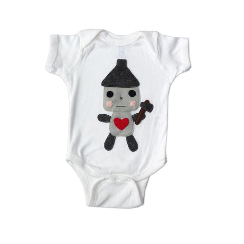 Tin Man -The Wonderful Wizard of Oz - Baby Onesie - EliteBaby