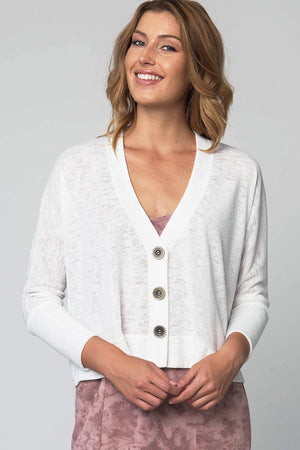 3 Button Cardigan