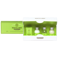 Atelier de Provence . Green Tea & Ginger.  Gift Set: Sea Salt . Pack of 6 - Trunkshop