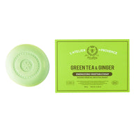 Atelier de Provence . Green Tea & Ginger.  Vegetable Soap . Pack of 6 - Trunkshop