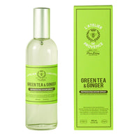 Atelier de Provence . Green Tea & Ginger.  Room Spray . Pack of 6 - Trunkshop