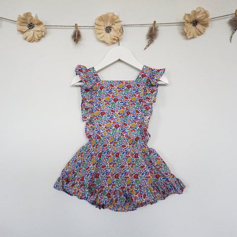 liberty favourite flowers pinafore