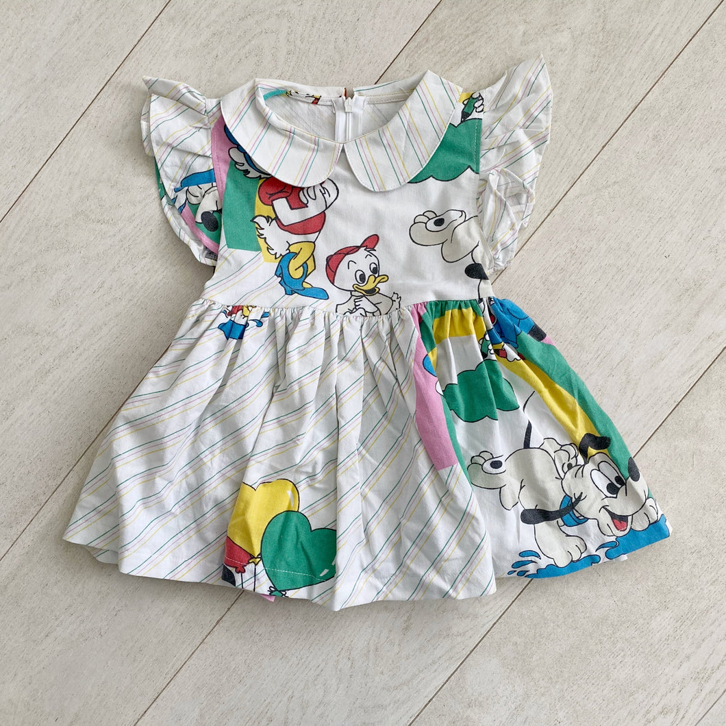 vintage character dress d // size 2t