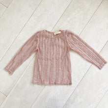 dusty rose layering shirt