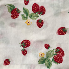 vintage strawberry fields pinafore 6/12