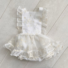vintage lila pinafore // size 2t