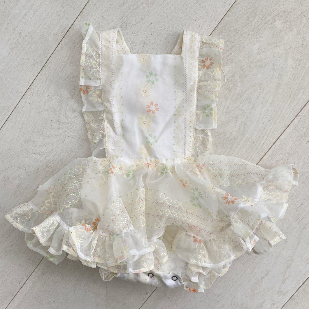 vintage isla pinafore // size 2t
