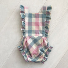 pastel check sunsuit
