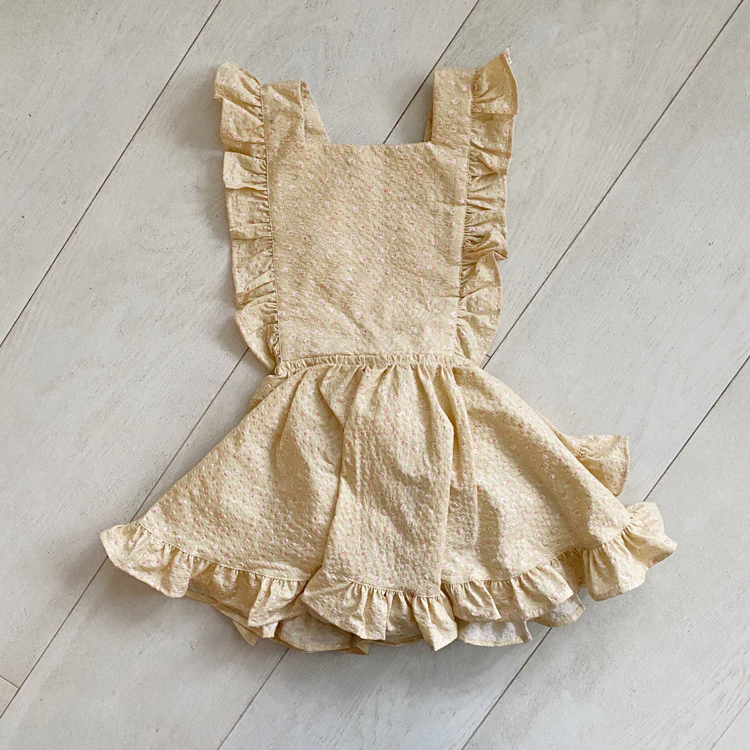 vintage ariana pinafore // size 3t