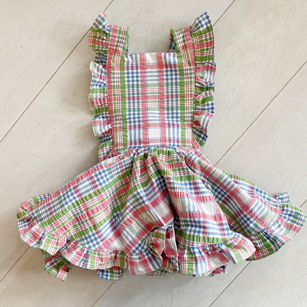 vintage hailey pinafore // size 3t