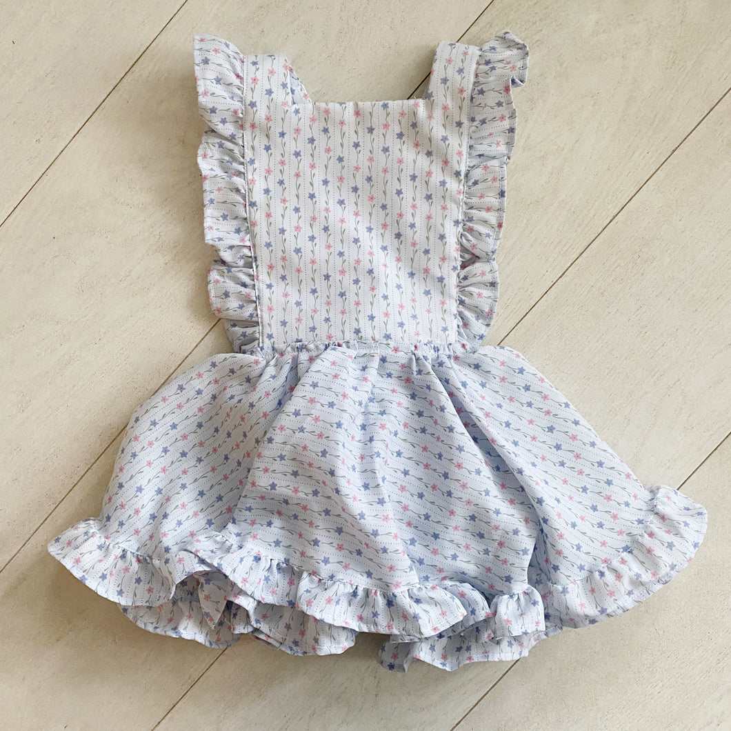 vintage stella pinafore // size 3t