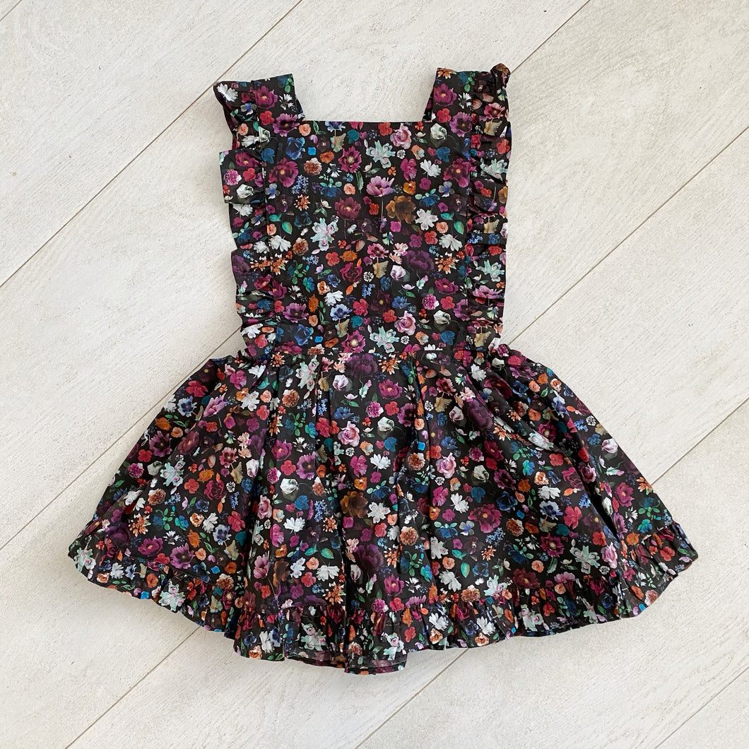liberty floral edit pinafore