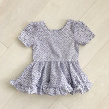 vintage purple bud dress 2t