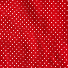 vintage red swiss dot pinafore 3t