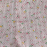 vintage pink daisy dress 3t