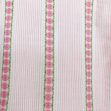 vintage embroidered pink pinafore - 3t