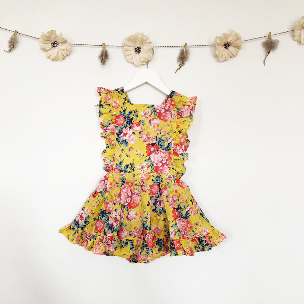 liberty magical bouquet pinafore