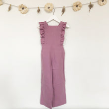 rose linen jumpsuit