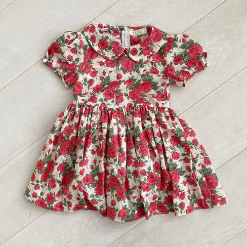 liberty carline rose peter pan dress
