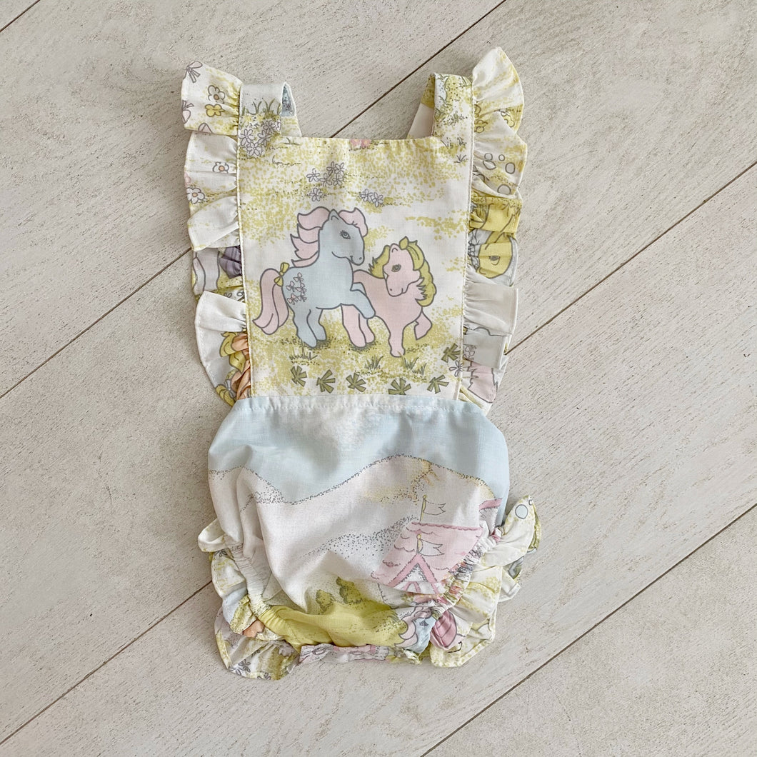 vintage sunsuit 001 // size 2t