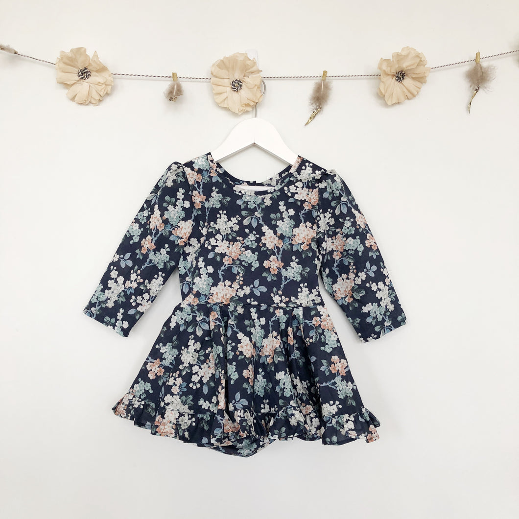 liberty josephine 3/4 sleeve dress