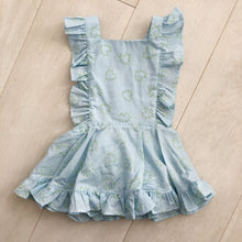 Copy of vintage lime and lace pinafore 2t