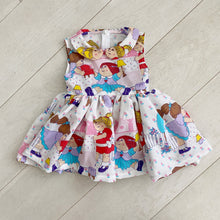 vintage poppy dress // size 4t