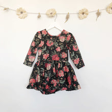 liberty decadent blooms 3/4 sleeve dress