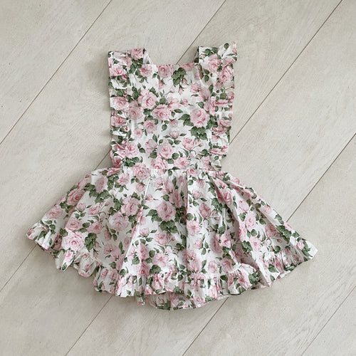 liberty carline pink pinafore