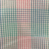 vintage pastel seersucker plaid - 6/12