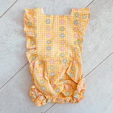vintage sunsuit 004 // size 2t