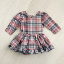 vintage fall plaid dress 3t