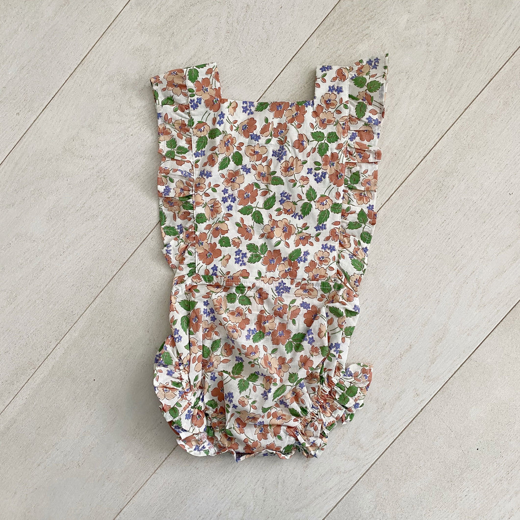 vintage autumn sunsuit  // size 3t