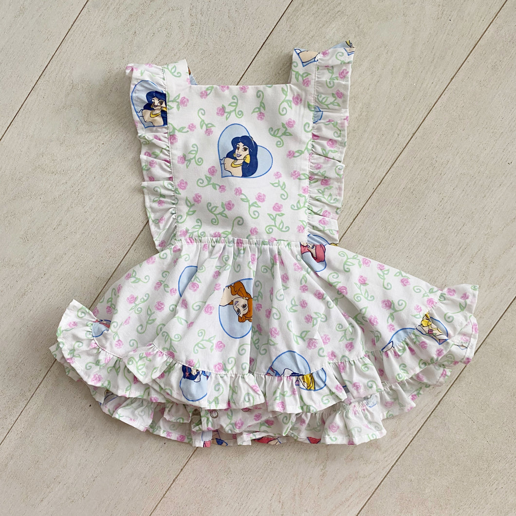 vintage character pinafore 015 // size 2t