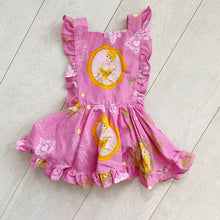 vintage character pinafore 002 // size 3t