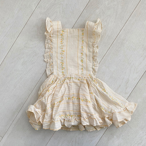 vintage austyn pinafore // size 3t