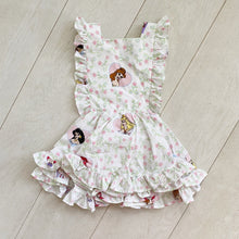 vintage character pinafore 007 // size 3t