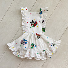 vintage character pinafore 018 // size 3t