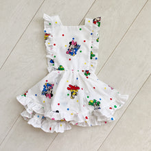 vintage character pinafore 019 // size 3t