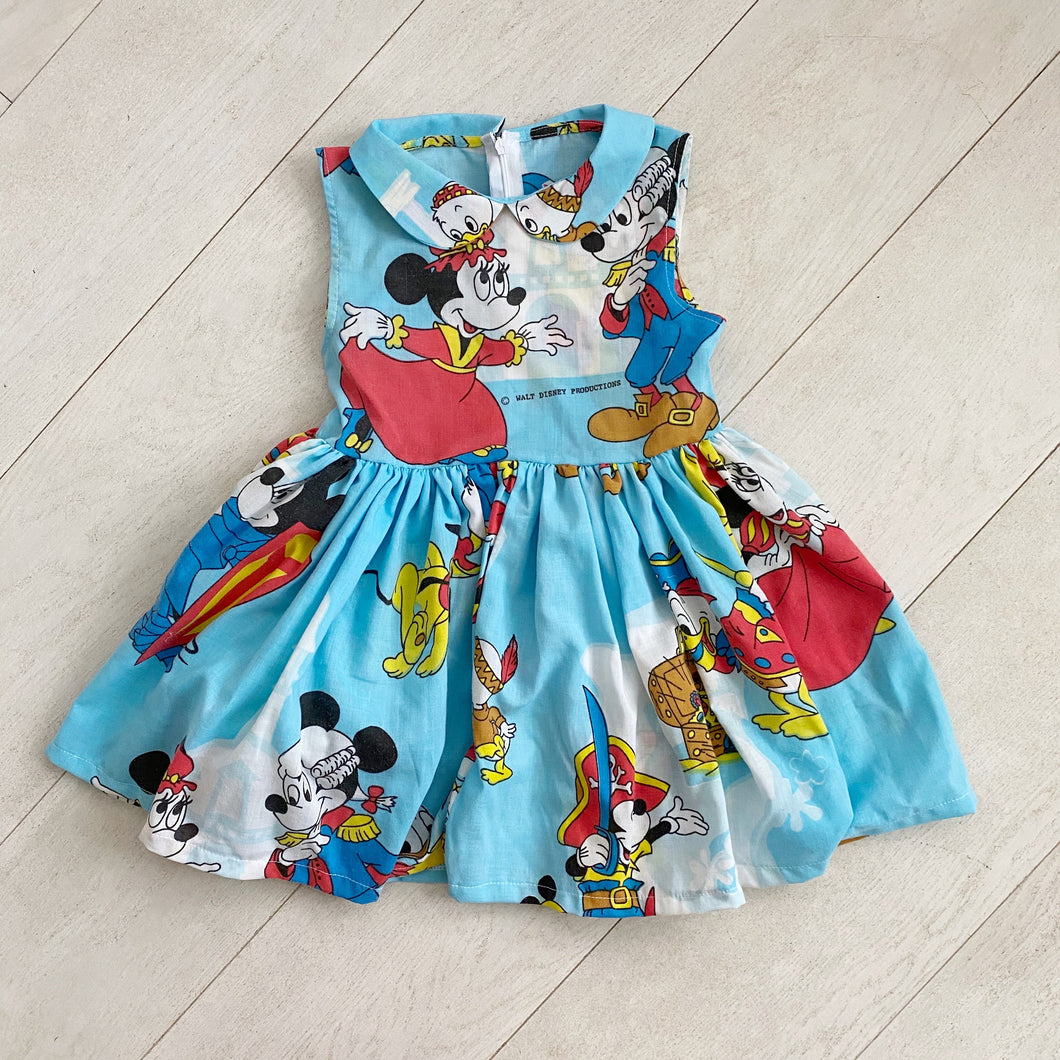 vintage character dress 001 // size 6t